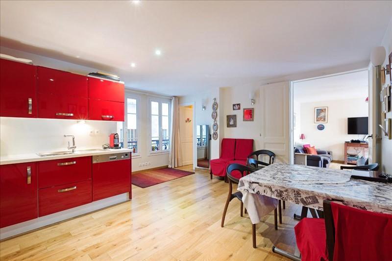 Cuisine appartement Michodiere Paris immo