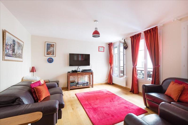 Salon Appartement Michodiere Paris