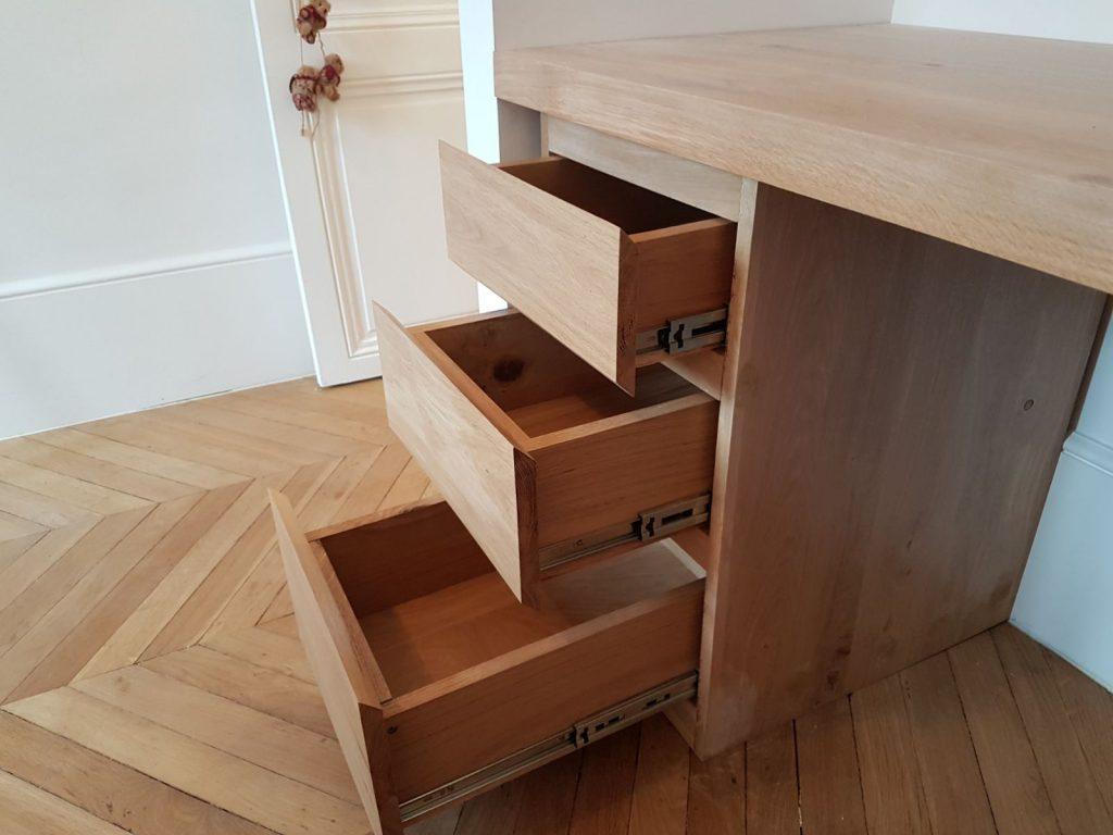 Menuiserie meubles sur mesure appartement maison immobilier paris