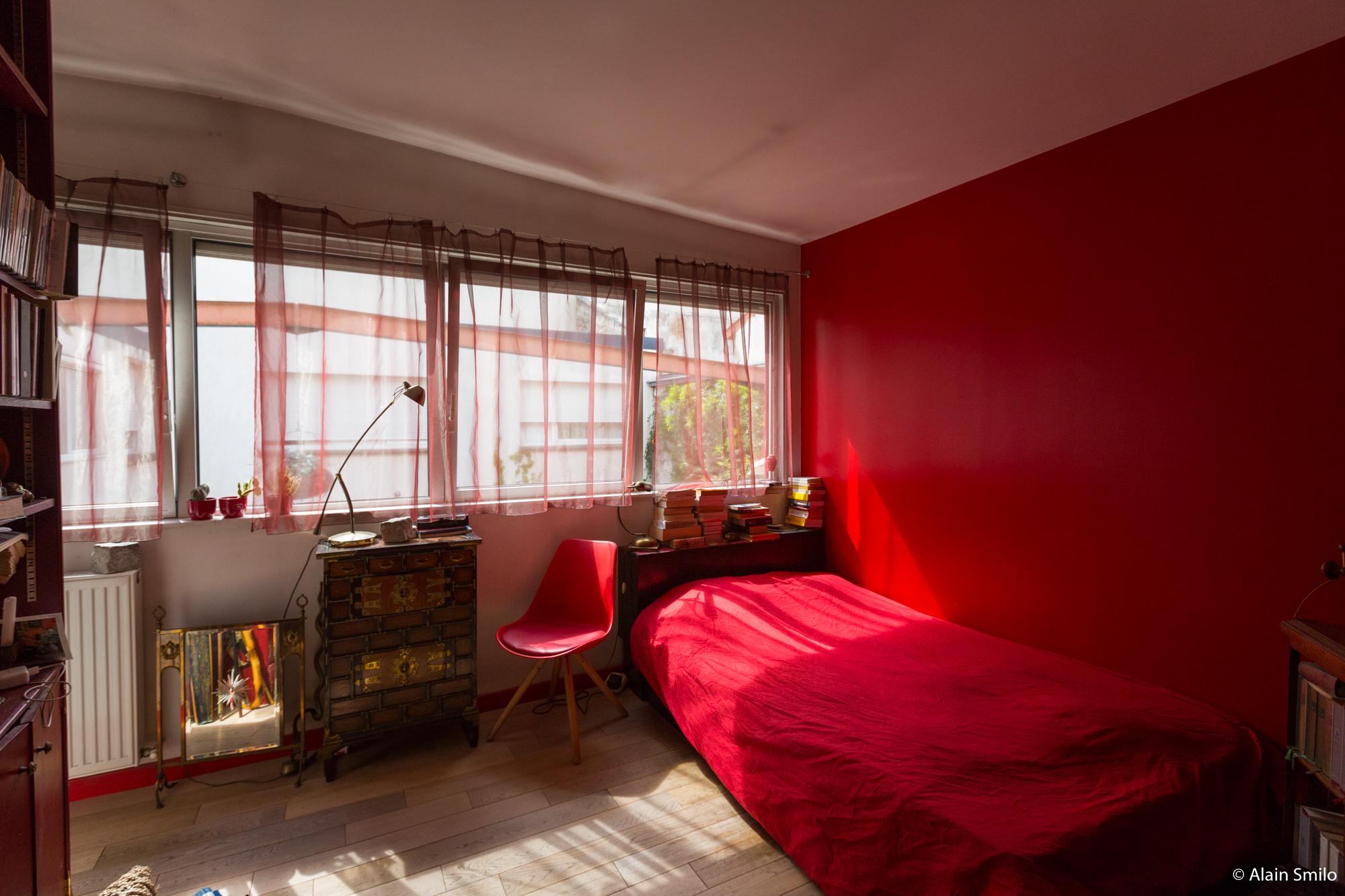 Loft vente bagnolet immobiliere beryl chambre rouge
