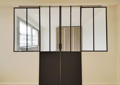 2) Vue Entrée chambre Après